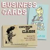band business cards printing