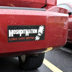 Bumper Stickers for Bands Printed Fast and Cheap - BandPosterPrinting.com