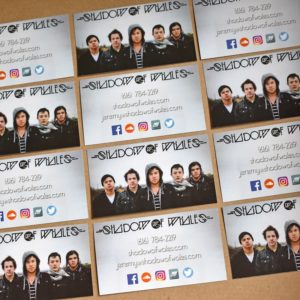 Business Card Printer for Bands and Musicians, Printed Cheap and Fast - BandPosterPrinting.com