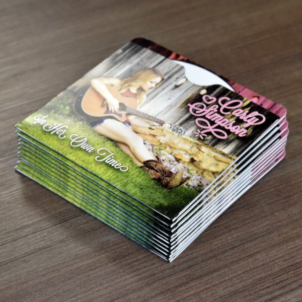 Custom CD Sleeve Printing for Bands and Musicians, Printed Fast and Cheap - BandPosterPrinting.com