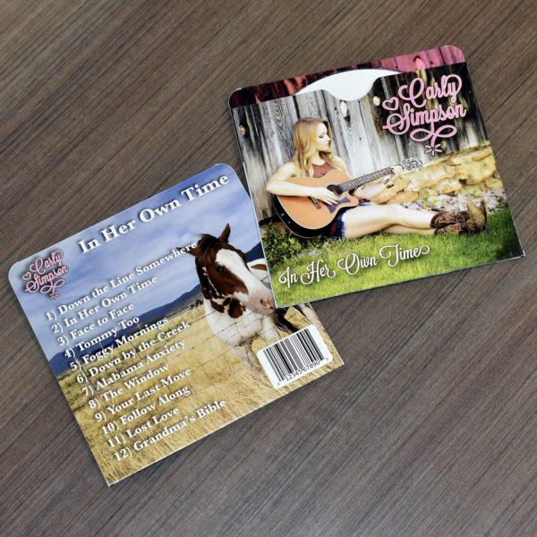 Paper CD Sleeves Printed for Bands, Fast, Cheap Printing - BandPosterPrinting.com