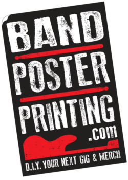Band Poster Printing, Flyers, CD Sleeves and More - BandPosterPrinting.com
