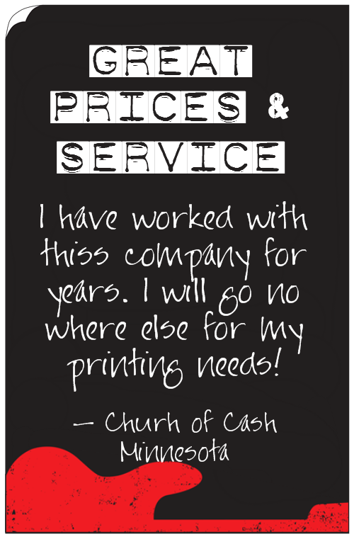 Testimonial Church of Cash